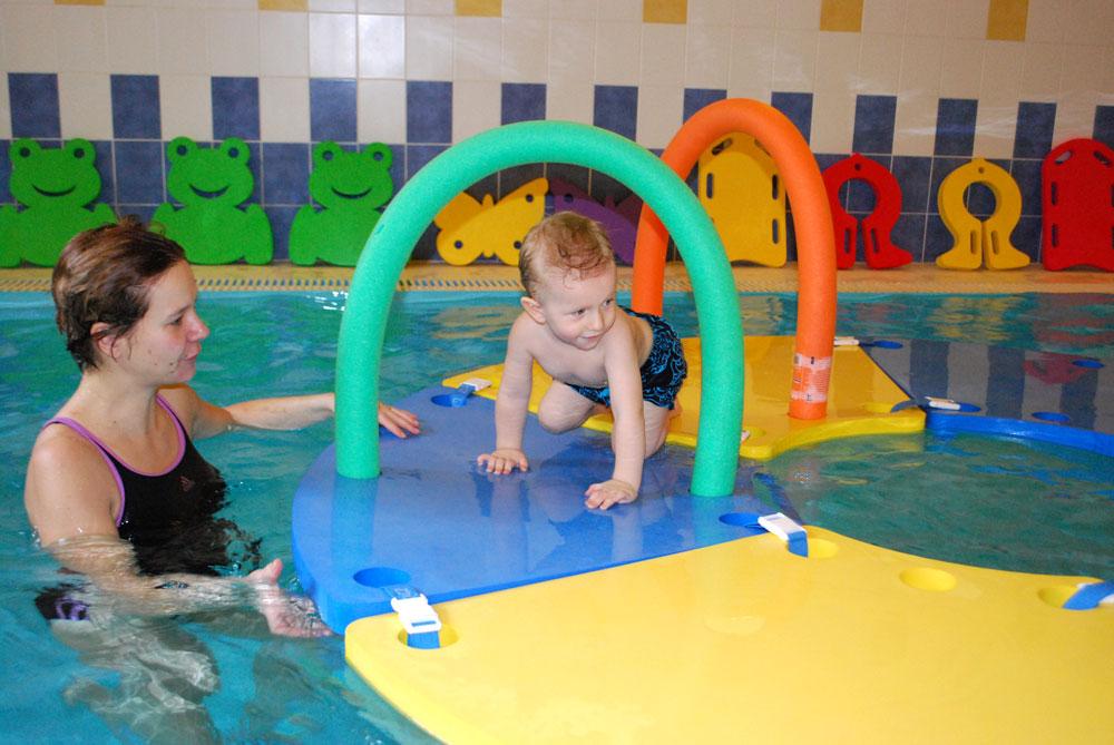 Plavání dětí