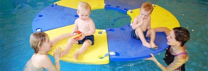 Rodinná atmosféra - Plavání dětí od 6ti měsíců
